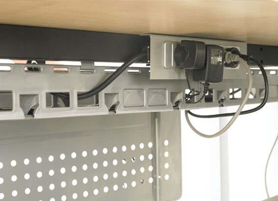 cable basket data mounting plates