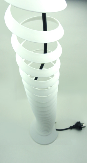 spiral cable spine white