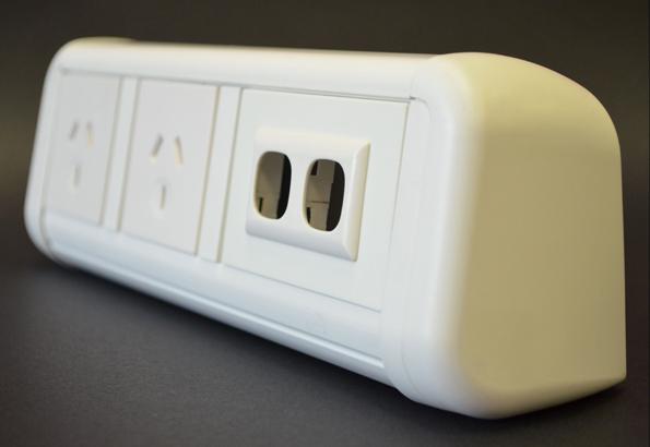 contour on desk module