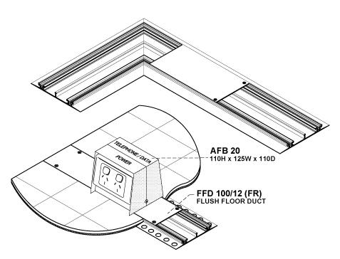 floor duct schema