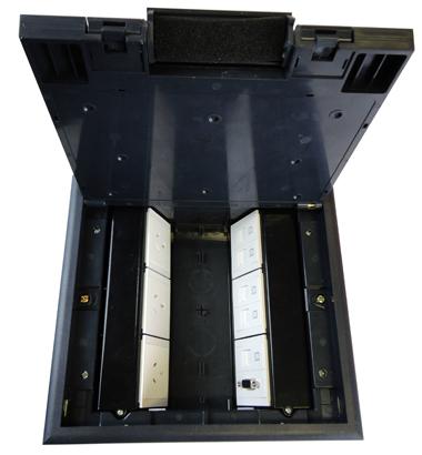 plastic 624 floor box