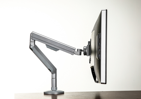 type F monitor arm
